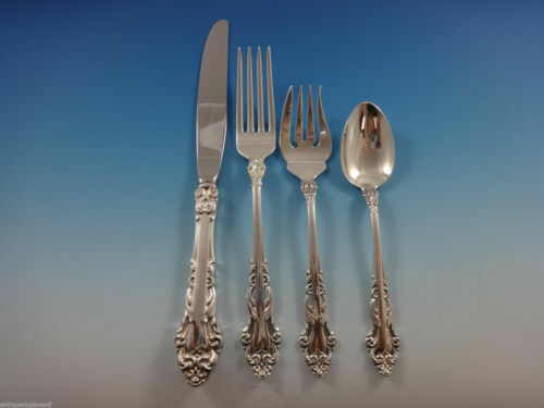 Grande Renaissance By Reed and Barton Sterling Silver Regular Setting(s) 4pc