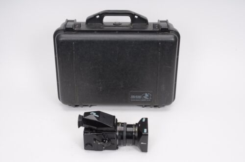 Bronica ETRSi kit (body, 75mm PE Lens, 220 back, prism) Outfit+Pelican 1500 Case