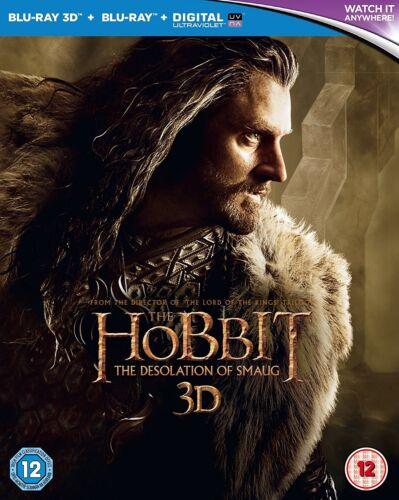 The Hobbit: The Desolation of Smaug 3D (Blu-ray 3D + Blu-ray)