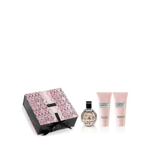 Jimmy Choo 3pc set 100ml EDP (L)  Womens 100% Genuine (New)