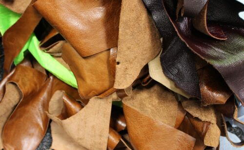 2Kg Upholstery Quality Leather Arts & Crafts,Off Cuts,Scrap,Remnants,Pieces,