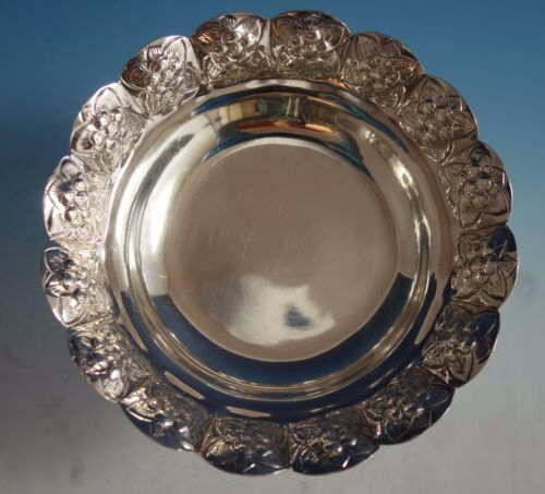 Aztec Rose by Sanborns Mexican Mexico Sterling Silver Candy Dish (#1780)
