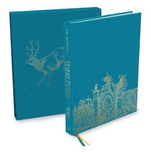 Harry Potter and the Prisoner of Azkaban: Deluxe Illustrated Slipcase Edition by