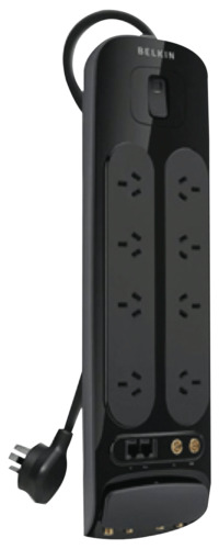 NEW Belkin BV108130AU3M 8 Outlet Powerboard Surge Protection