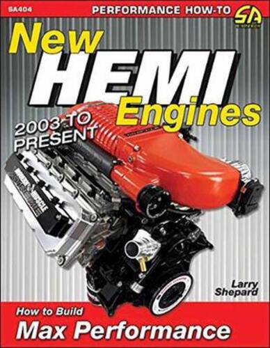 New Hemi Engines 2003 to Present by Larry Shepard Paperback Book Free Shipping!