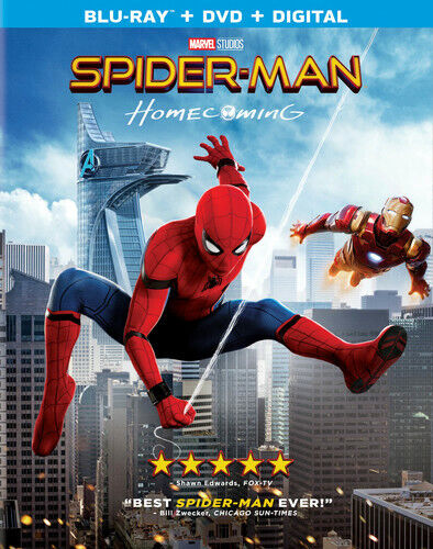 Spider-Man: Homecoming - 2 DISC SET (REGION A Blu-ray New)