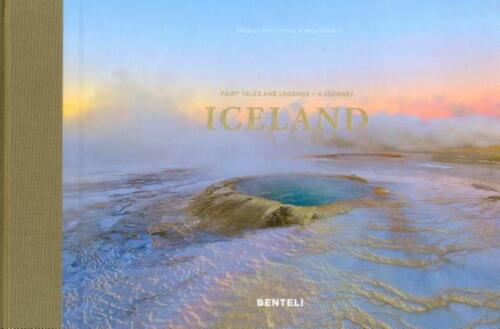 Iceland: Fairy Tales & Legends: A Journey by Helmut Hinrichsen Hardcover Book Fr