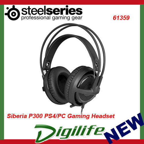 SteelSeries Siberia P300 PS4/PC 3.5mm Gaming Headset - 61359 PlayStation 4