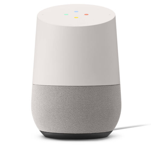 Google Home Hands-Free Personal Assistant White/Slate New Sealed with Warranty