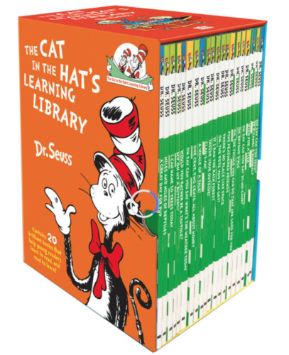 New Dr Seuss Cat in the Hat Learning Library 20 - Book Boxset **Free Post**