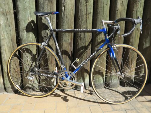 Colnago Carbitubo Vintage Bike Campagnolo Record 8 Speed 57cm c-c 3TTT Bicycle