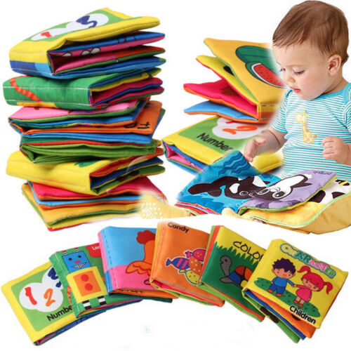 Intelligence development Cloth Fabric Cognize Book Educational Toy for Kid Baby