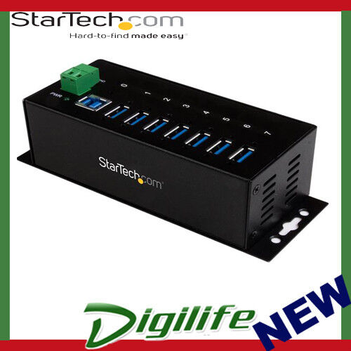 STARTECH 7-Port Industrial USB 3.0 Hub with ESD Protection