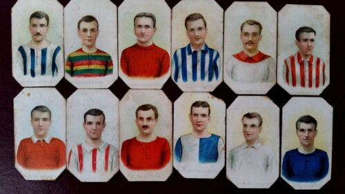 FOOTBALL CARDS UK CLUBS OLD 1900s - SCISSORS WD & HO WILLSCricket Cards - 25579