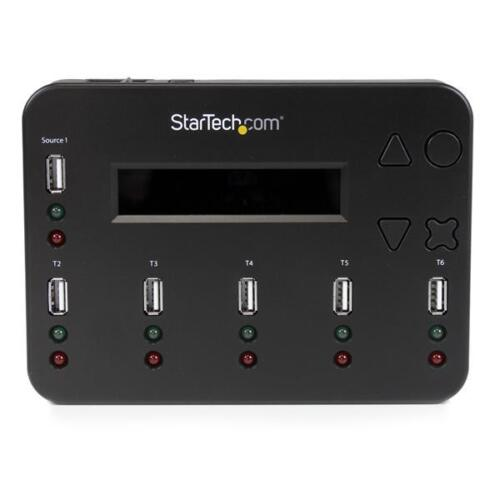 StarTech Standalone 1:5 USB Flash Drive Duplicator and Eraser Flash Drive Copier