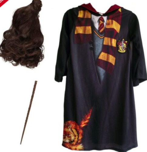 GENUINE Harry Potter Hermione Granger Fancy Dress Costume OUTFIT Book Day