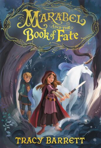 Marabel and the Book of Fate by Tracy Barrett Hardcover Book Free Shipping!