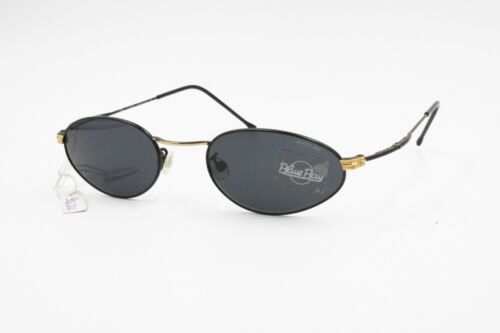 Slim sunglasses BLUE BAY by Safilo with oval drop lenses, New Old Stock
