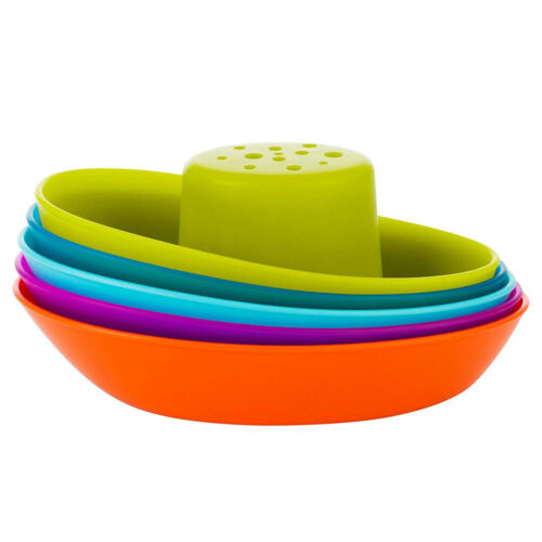 Boon Fleet Stacking Boat/Ship Bath Time Toy/Play for Baby/Toddlers/Kids