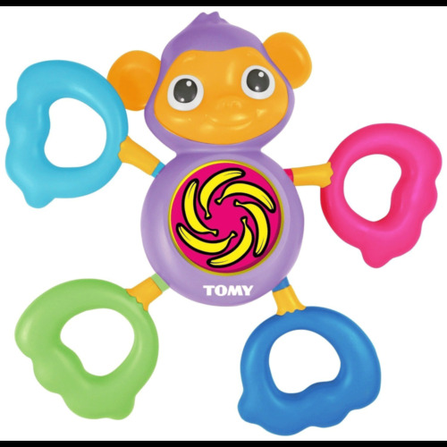 Tomy Grip and Grab Musical Monkey Sound Playing/Activity Toy for Baby/Toddler