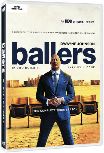 Ballers: The Complete Third Season (REGION 1 DVD New)