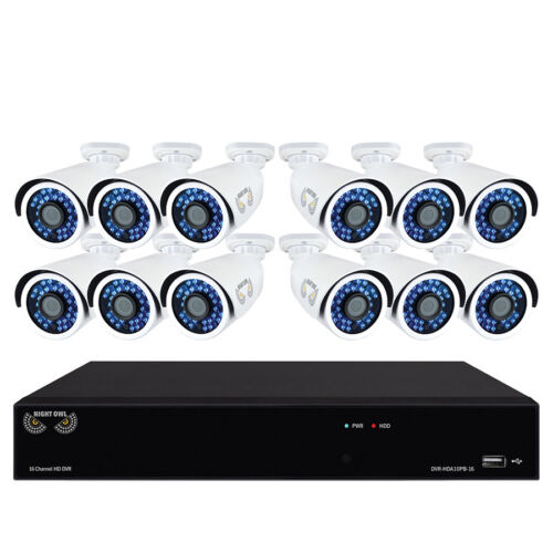 Brand NEW Night Owl 16-Channel 12-Camera 1080p Security System w/ 1TB HDD DVR