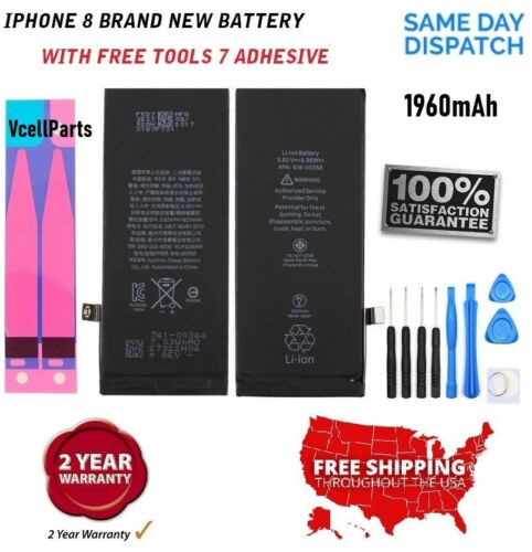 """New Genuine 1960 mAh Replacement Battery + Tape + Tools for Apple iPhone 7 4.7"""""""
