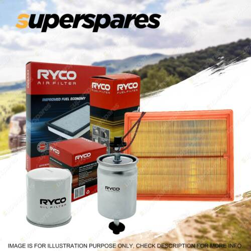 ryco oil air fuel filter service kit for mercedes benz 380sl r107 450se w116
