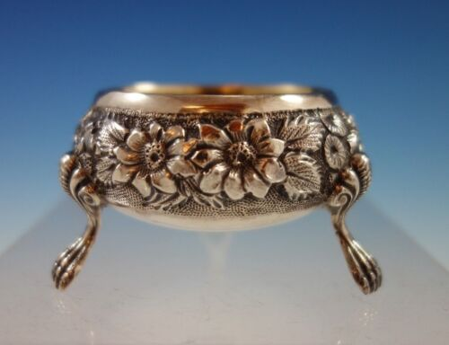 Baltimore Rose by Schofield Sterling Silver Salt Dip Gold Washed #1039 (#2305)