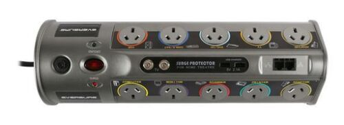 10 WAY POWER BOARD WITH USB & COAX / NETWORK PROTECTION 10 Amp Maximum