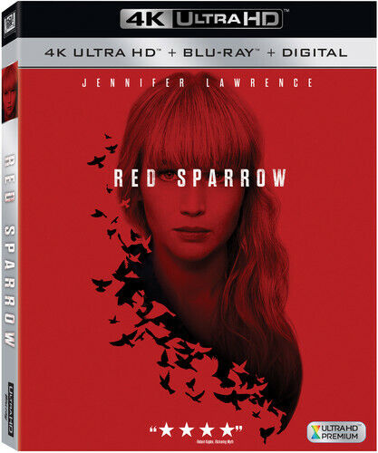 Red Sparrow - 2 DISC SET (REGION A Blu-ray New) 024543488675