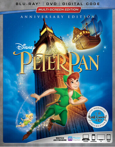 Peter Pan (Anniversary Edition) [New Blu-ray] With DVD, Widescreen, 2