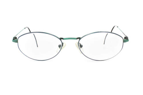 Oval eyewear frame Electric colors RODENSTOCK  // classic 1980s oval frame