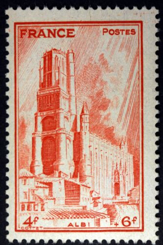FRANCE CATHEDRALE D ALBI   TIMBRE NEUF N° 667 **  MNH 1944  B4