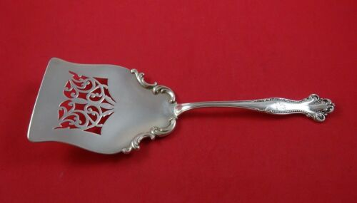 """Hope by Mount Vernon Sterling Silver Waffle Server Pierced 8 1/4"""""""