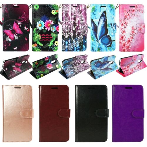 For LG Stylo 4| 4 Plus| Q Stylus|  PU Leather Wallet Phone Case Cover Flip Stand