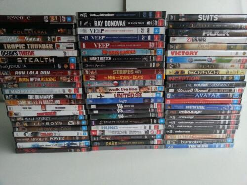 DVD Collection Starting From $2 – Various Titles and TV Series