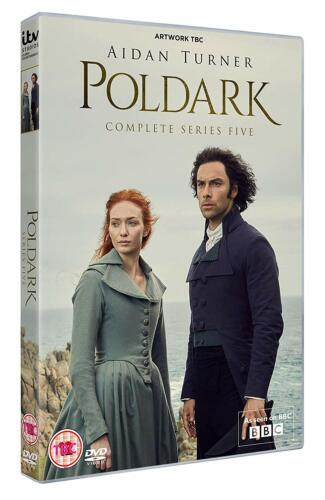POLDARK 5 (2019) FINAL - Aidan Turner TV Drama Season Series NEW Rg2 DVD not US