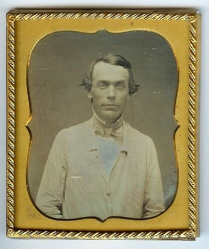 OCCUPATIONAL DAGUERREOTYPE 6th Plate Daguerreotype of a Doctor or Pharmacologist