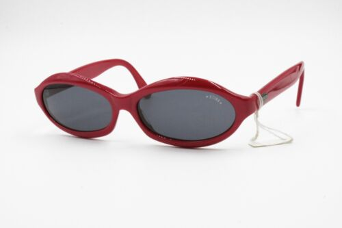 Red BUG EYE Sunglasses made by STING 90s, women ladies shades vintage new, NOS