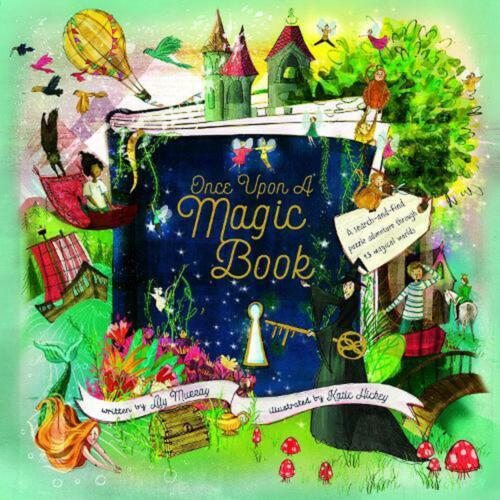Once Upon a Magic Book by Lily Murray Hardcover Book Free Shipping!