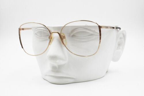 Silhouette 6022 20 Vintage NOS women eyeglasses, Golden sating and lucite, NOS