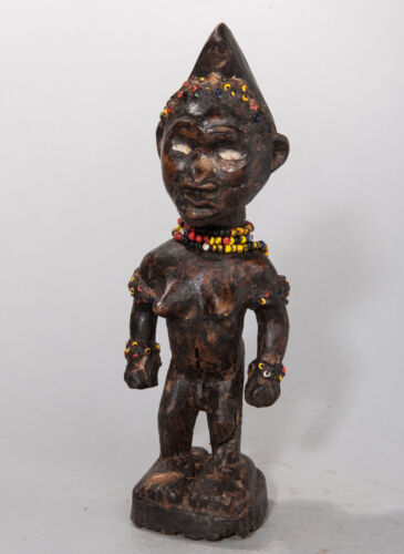 Yombe, Female Figure, D.R. Congo, African Tribal Sculpture, African Art