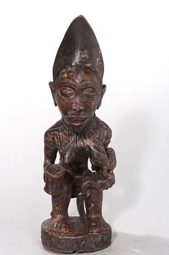 Yombe, Maternity Figure, D.R. Congo, African Tribal Sculpture, African Art