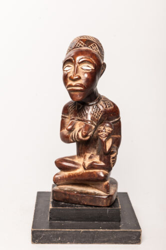 Yombe, Maternity Figure, D.R. Congo, African Tribal Sculpture