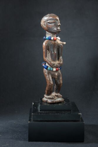 Lele Early 20th Cen, Male Ancestor Figure, Old South African Collection.