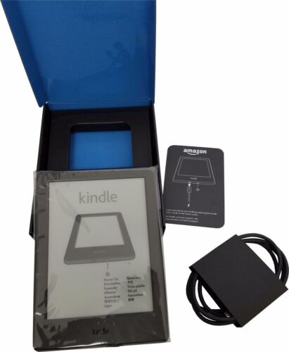 "Amazon Kindle 6"" eReader 4GB Wi-Fi Touch Black Glare-Free 8th Gen 2016 release"