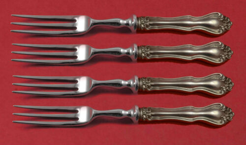 """George and Martha by Westmorland Sterling Silver Fruit Fork Set HHWS 6"""" Custom"""
