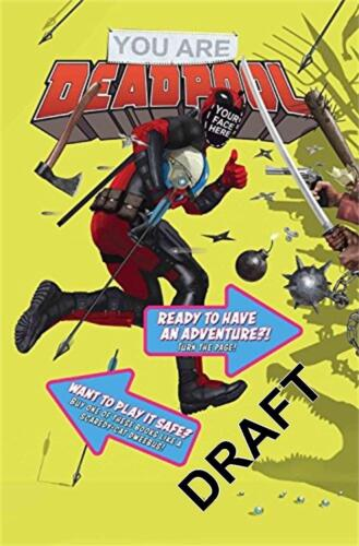 You are Deadpool by Ewing Al Paperback Book Free Shipping!