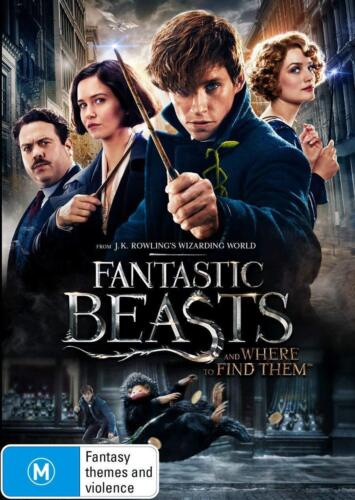 FANTASTIC BEASTS (2016) AND WHERE TO FIND THEM - Harry Potter - Au Rg4 DVD NEW